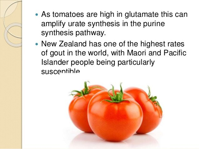 Temporary Tomatoes and Gout image