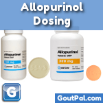 Allopurinol Dosing Tablets 100mg and 300mg Photo