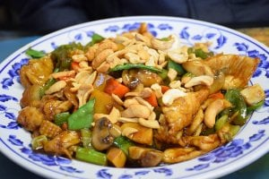 Cashew Nuts in Chinese Meal
