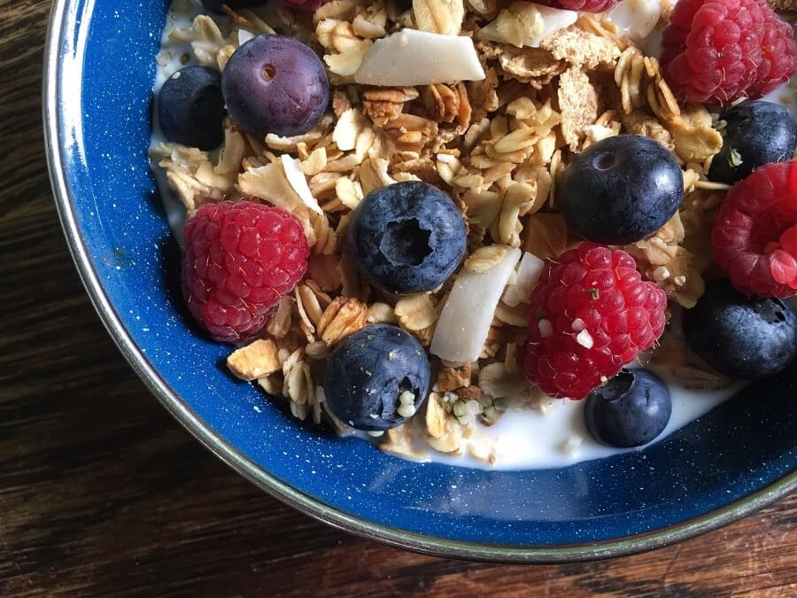 Granola with Oatmeal for Gout