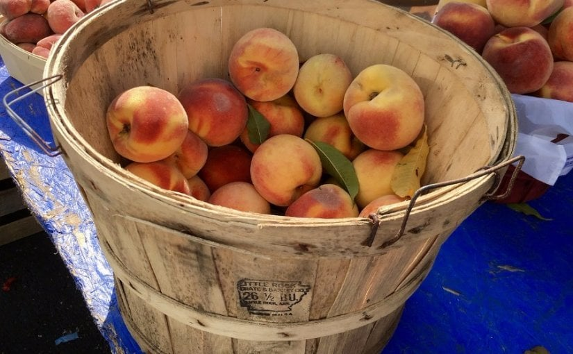 Peaches for Gout Sufferers photo