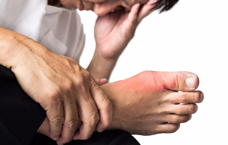 How long does gout flare up last?