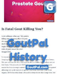 Fatal Gout Document Change History