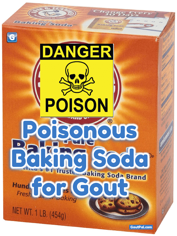 Poisonous Baking Soda for Gout image