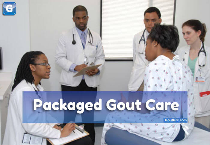 Packaged Gout Care media