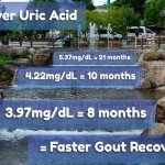 Lower Uric Acid = Faster Gout Recovery