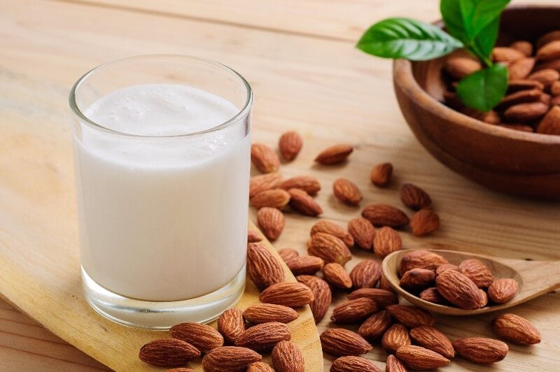 Almonds and Almond Milk For Gout