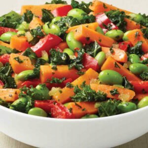 Edamame and Gout: Vegetable Medley